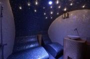 <h5>Dampfbadliege SWING Doppelliege</h5><p>Dampfbadliege SWING Doppelliege in einem exklusiven Dampfbad in Wien mit Sternenhimmel</p>