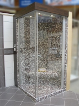 <h5>Duschsitz Ecksitz</h5><p>Duschsitz Ecksitz für Dampfdusche oder auch normale Dusche (beheizen empfohlen)</p>