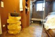 <h5>Badezimmer in Wellnesstempel umgewandelt</h5>