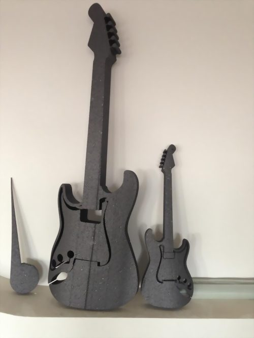 Gitarre aus EPS