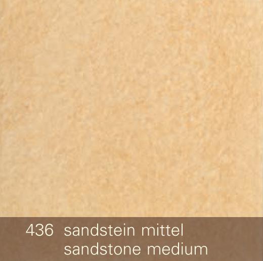 Keramik-Glasur 436-sandstein-mittel