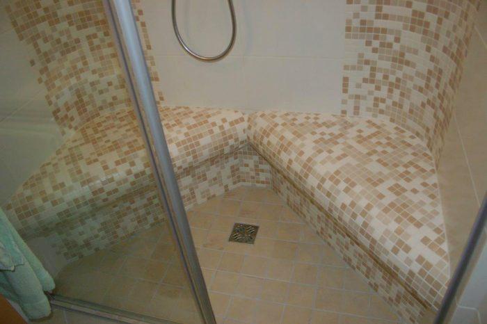 Dampfdusche statt Badewanne