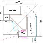 Grundriss Tepidarium mit Infrarot-Wärmeliegen