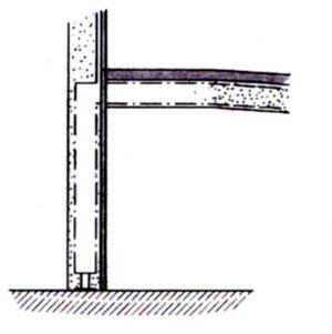 Infralounge 2, Fussteil eingebaut