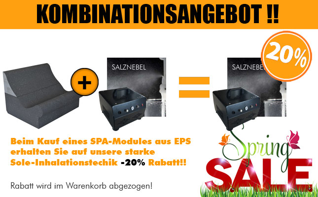 Kombinationsangebot SPA Modul