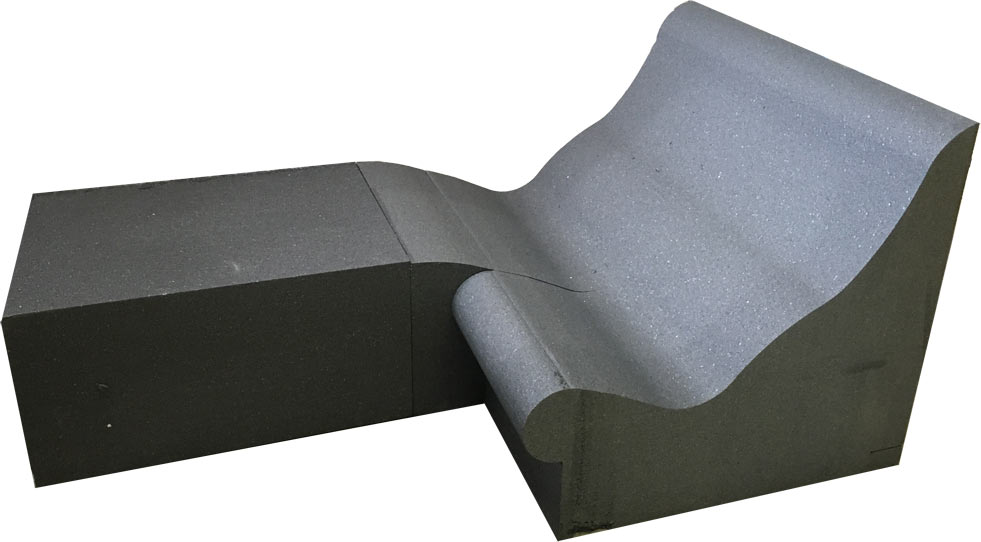 Dampfbadliege SWING mit Sitz SWING