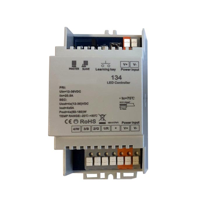 RGBW-LED-Controller-Hutschiene
