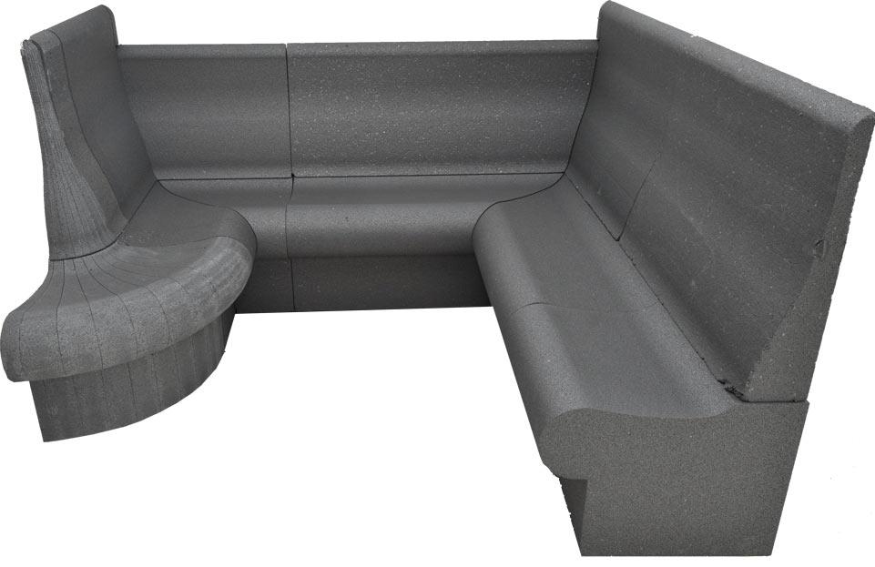 Dampfbadbank-Kombination T60