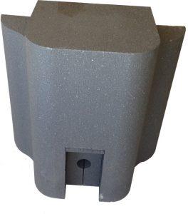 Dampfpodest-Dampfauslass