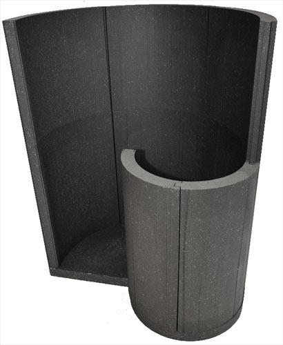 schneckendusche selber bauen das dampfbad von soleum gmbh. Black Bedroom Furniture Sets. Home Design Ideas