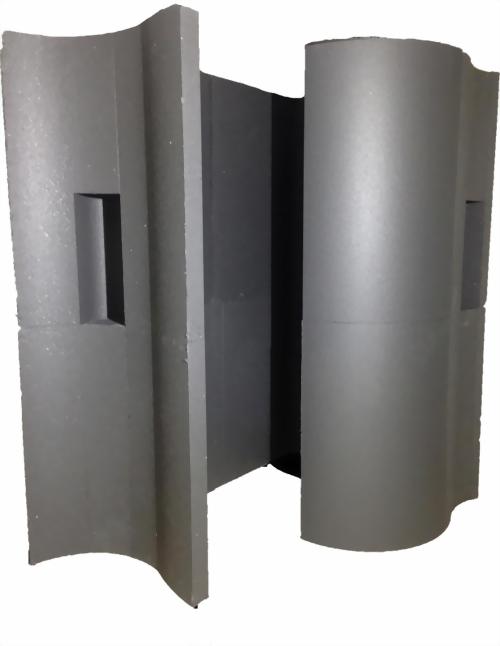 Schneckendusche aus Styrodur Hartschaum Bausatz EPS