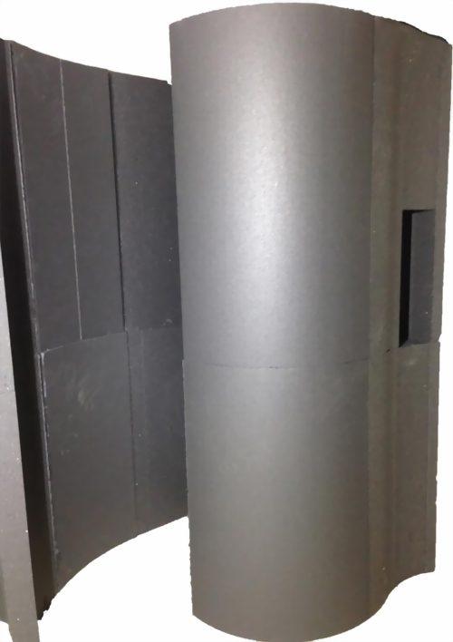 Schneckendusche aus Styrodur Hartschaum Bausatz